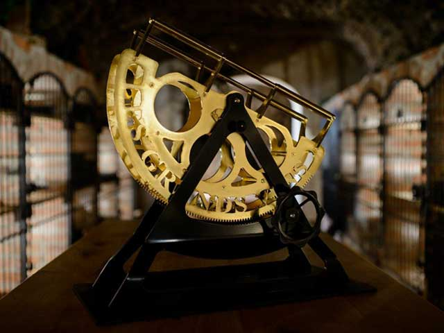 Dekantiermaschine - Gold - Les Grand Vins