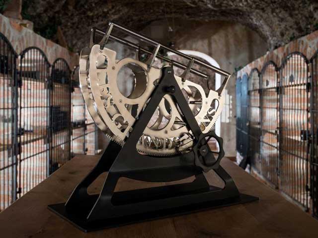 Dekantiermaschine - Silber - Les Grand Vins